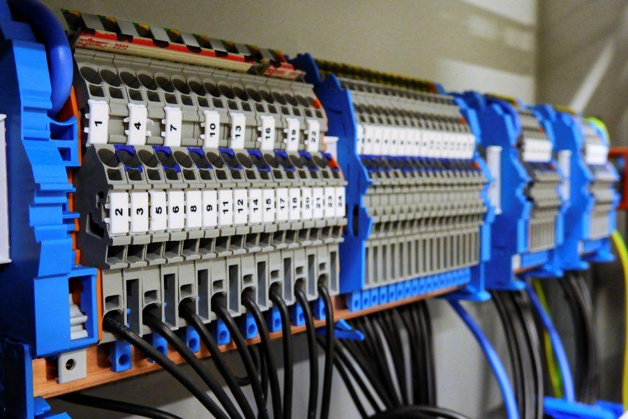 Stromverteilung / Verteilerbau